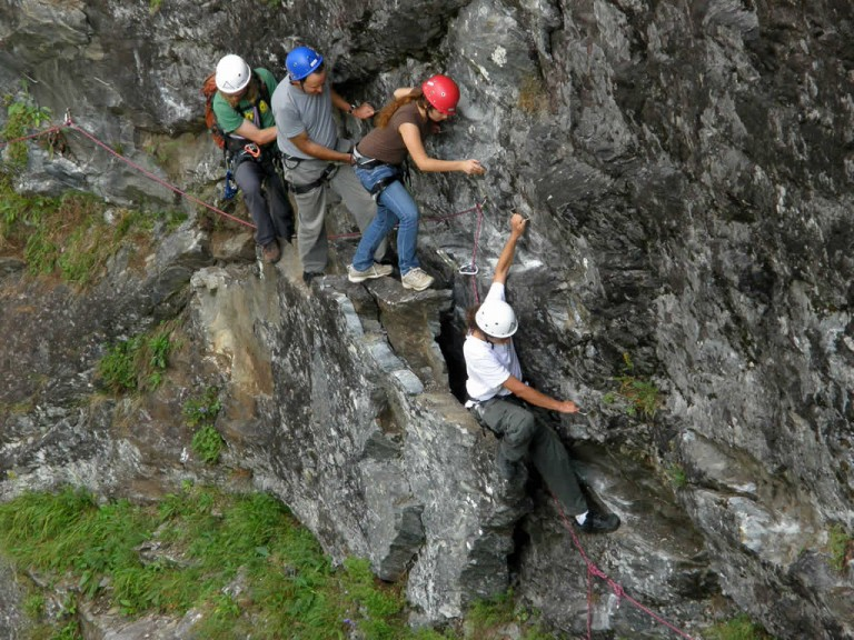 Via ferrata, Oppstryn - Photo: © Pau de Quadras